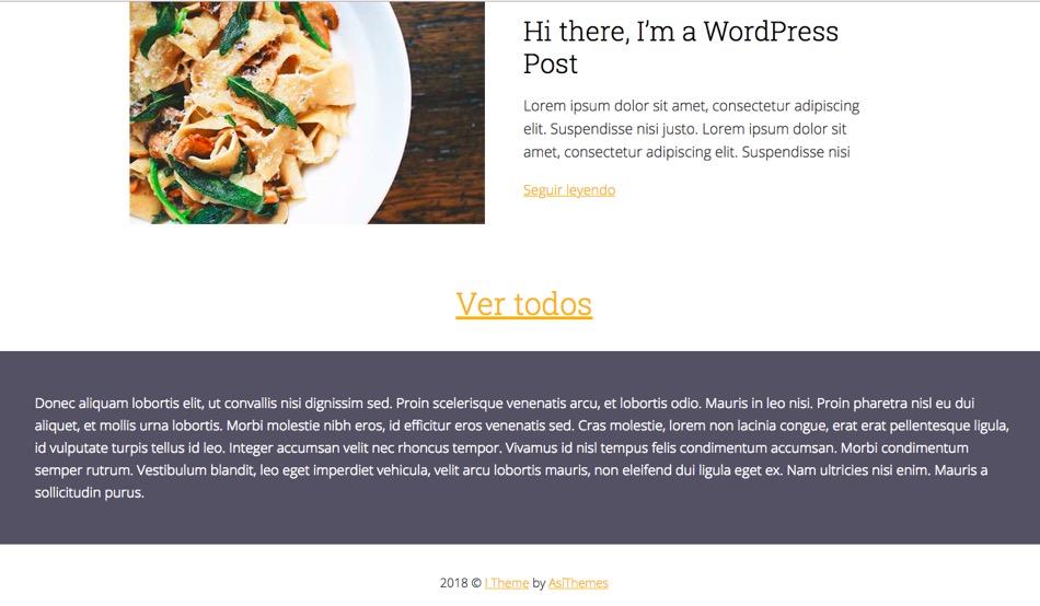 Widget area de texto con CSS